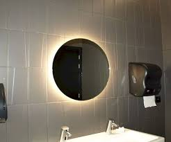 bathroom mirror led round 60cm