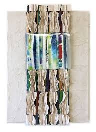 Fused glass and handmade paper by Priscilla Robinson | Mixed media ...