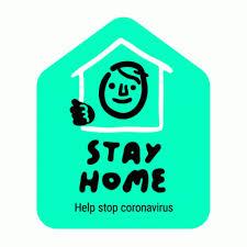 Stay Home Help Stop Coronavirus GIF - StayHome HelpStopCoronavirus ...