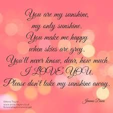 jimmie davis you make me happy you are my sunshine my children