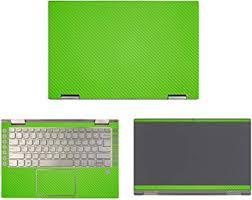 Amazon Com Decalrus Protective Decal For Lenovo Yoga C740 14 14 Screen Laptop Green Carbon Fiber Skin Case Cover Wrap Cflenovoyogac740 14green Computers Accessories