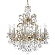 crystorama lighting group 4438 gd cl