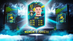 87 LUKA JOVIC MOMENTS SBC w/ 5* WEAK FOOT! - FIFA 20 Ultimate Team - YouTube