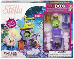 Angry Birds Stella Telepods Piggy Palace Playset Game Stella Gale ...