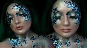 avant garde mermaid makeup