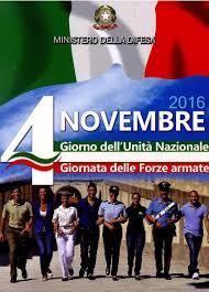 MANIFESTO CELEBRATIVO DEL 4 NOVEMBRE 2016. - Bassa Irpinia News -  Quotidiano online