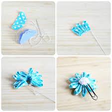 daisy flower paper clips a pumpkin