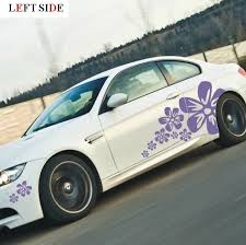 Left Side Car Stickers Individuality Car Sticker Car Styling Adorn Car Covers Pure And Fresh Flowers Decal Auto Spare Parts Car Sticker Flower Decalauto Parts Aliexpress