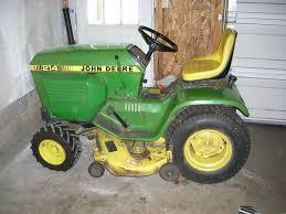 john deere 214 garden tractor forum