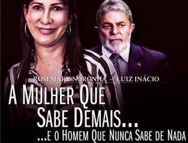 """Resultado de imagem para Lula e Rosemary Noronha"""""""