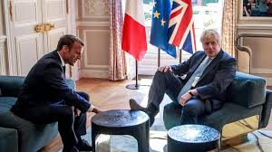 british pm at home in french president