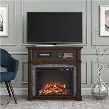thompson place electric fireplace tv