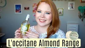 l occitane almond collection you