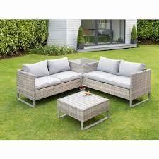 rattan corner garden furniture new
