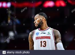 "American professional basketball player Clarence ""Sonny"" Weems of Guangdong  Hongyuan Southern Tigers plays during a game at the first stage of Chinese  Stock Photo - Alamy"