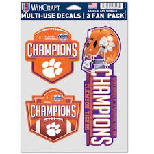 Clemson University Decals License Plate Clemson Tigers Auto Accessories Shop Cbssports Com