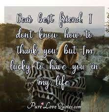 best friend thank you buisnessletterforms