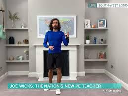 Joe Wicks pledges daily PE lessons as ...