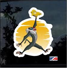 Air Lion King Full Color Decal Sticker Custom Sticker Shop