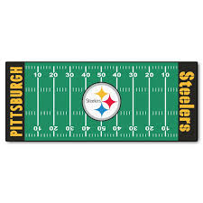 Fanmats Nfl Pittsburgh Steelers Football Field Runner Reviews Wayfair