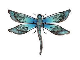 Liffy Metal Dragonfly Garden Wall Decor Buy Online In Liechtenstein At Desertcart