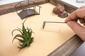 diy mini zen gardens for tables and desks