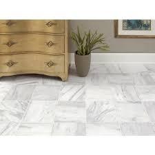 Aurora White Polished Marble Tile - 12 x 12 - 100434406 | Floor ...