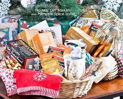 hostess gift baskets and pumpkin e