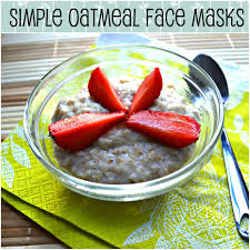 diy homemade oatmeal face mask recipes