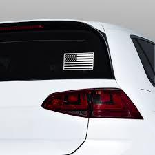Usa Flag Bw Jdm Stickers Decals Vs