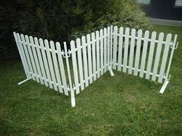 Desisgn Flow Australian Manufacturer Of Plastic Pickets Picket Fence Panels Picket Fence Portable Fence