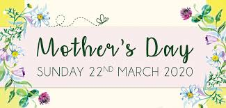 Join us at The Ship for Mother's Day ...
