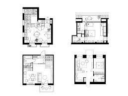 house plans under 50 square meters 26