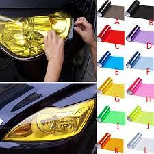 2020 9meters Car Headlight Tint Film Wholesaler Light Sticker Fog Lamp Vinly Sheet Light Sticker Tint Decal Tint Film Protect Auto From Supermarket2010 3 04 Dhgate Com