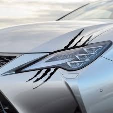 Funny Reflective Monster Scratch Stripe Sticker For Dodge Journey Charger Ram 1500 Challenger Grand Caravan Neon Stratus Car Stickers Aliexpress