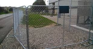 Temporary Chain Link Fence Panel Is Often Used In Prohibited Areas