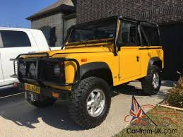 1994 land rover defender car from uk