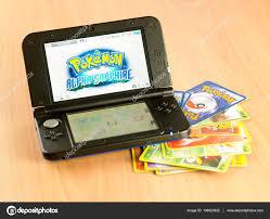 Nintendo 3ds with pokemon game – Stock Editorial Photo © eskaylim #138923322