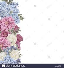 Diseno De Borde Floral Para Guardar La Fecha Tarjetas