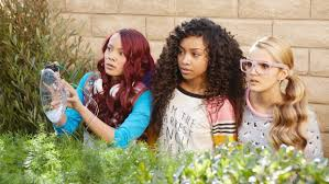 """Ysa Penarejo, Genneya Walton and Victoria Vida in a scene from """"Project  Mc2."""" The series about four clever schoolgirls recruited to join a spy  organization will be released Aug. 7 on Netflix."""