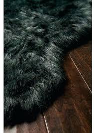 grey faux fur rug grey faux fur rug