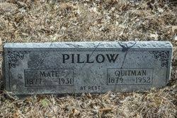 Mate Adeline Davidson Pillow (1877-1931) - Find A Grave Memorial