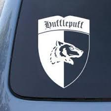 Hufflepuff Vinyl Decal Sticker Vinyl Decals Vinyl Decal Stickers Harry Potter Car