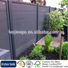 Exterior Wood Plastic Fence Garden Use Outdoor Composite Garden Fence Free Standing Fencing Buy Free Standing Fencing Decorative Garden Fence Garden Fence Product On Alibaba Com