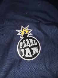 Someone Gave Me A Bag Of Stickers The Pearl Jam Silver Bomb Rare Vintage Sticker Was In There Along With A Bunch Of Other Pearl Jam Stickers Pearljam