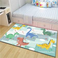 Cartoon Jungle Dinosaurs Children S Room Home Decor Area Rugs Floor Mat Carpets