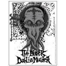 The Black Dahlia Murder Tentacles Vinyl Sticker At Sticker Shoppe