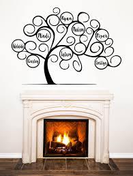 Personalized Tree Of Life Family Tree Vinyl Decal Wall Art Etsy In 2020 Decal Wall Art Vinyl Wall Decals Personalized Tree