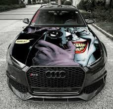 Vinyl Decal Joker Photo Car Hood Wrap Full Color Graphics Custom Size Sticker Ebay