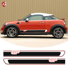 2 Pcs Side Stripes Stickers Mini Gp Style Body Decal For Mini Cooper S R57 R58 R59 One Jcw Accessories Buy At The Price Of 43 63 In Aliexpress Com Imall Com